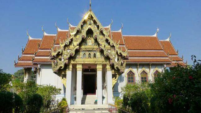 Thai Temple And Monastery