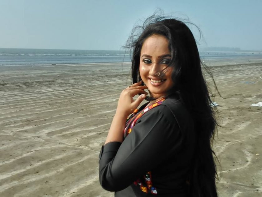 Rani Chatterjee without makeup