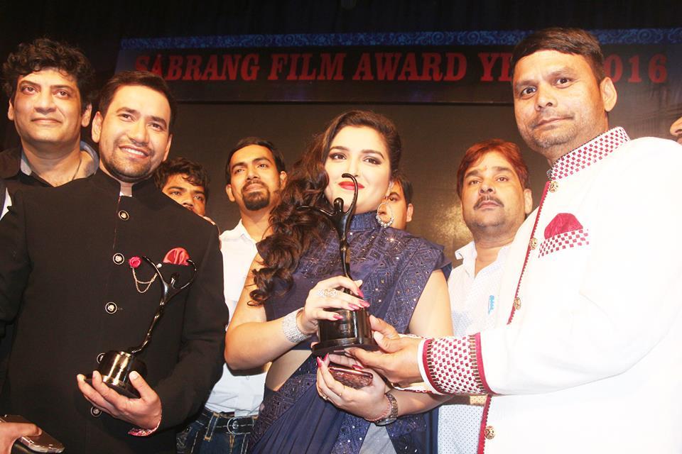 Bhojpuri sabrang award show 2018