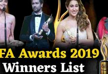 Complete winners list of IIFA Awards Show 2019